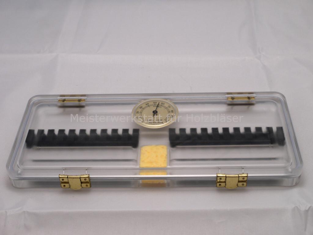 Hygrocase für Oboe-Rohre