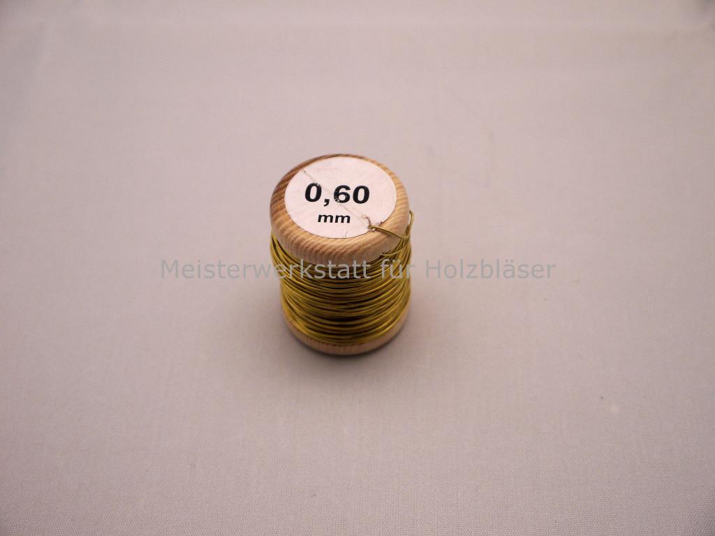 Messingdraht Fagott 0,6mm